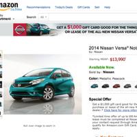 Nissan - Versa Note Amazon Partnership
